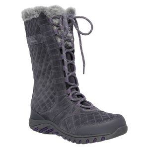 Skechers Descender Andes Suede Quilted Winter boot